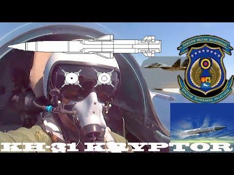 Venezuela lança míssil anti-navio KH-31 Kryptor usando os SU 30 MKV  (Análise CAIAFAMASTER)
