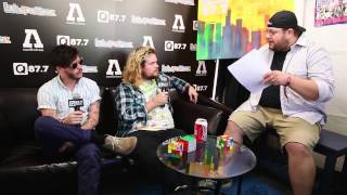 Lou Interviews Wavves Backstage At Lolla 2013