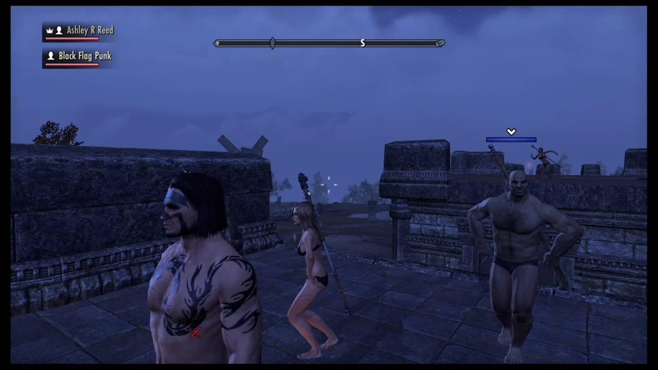 The Elder Scrolls Online: legion of boom party crash - YouTube