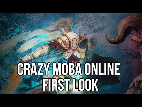 Crazy MOBA Online (Free MOBA Game): Watcha Playin'? Gameplay First Look