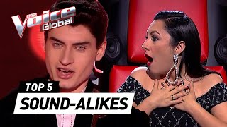 MIND-BLOWING SOUND-ALIKES in The Voice