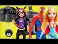 Paraquedas Batman Candide Homem Aranha Flash Batgirl Supergirl DC Super Hero Girls Charada