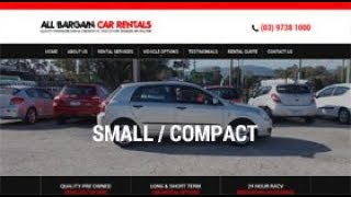 Low Cost Small / Compact Auto Car Hire Melbourne