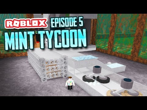 MAKING PLATINUM COINS - Roblox Mint Tycoon #5