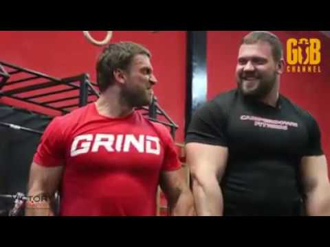 Kirill Sarychev back workout at Dmitry Klokov's gym! - YouTube