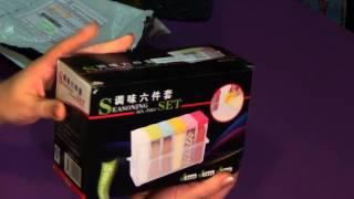 Баночки для специй с AliExpress комплект 6 шт. Распаковка и обзор посылки из Китая. Контейнер.