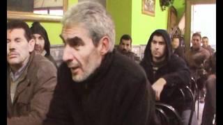 La reunión con hermanos musulmanes árabes de Premia del Mar , Barcelona