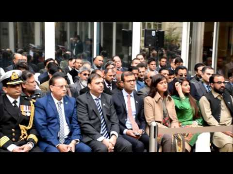 Flag Hoisting held at the Embassy of Pakistan in Paris 23rd March, 2017