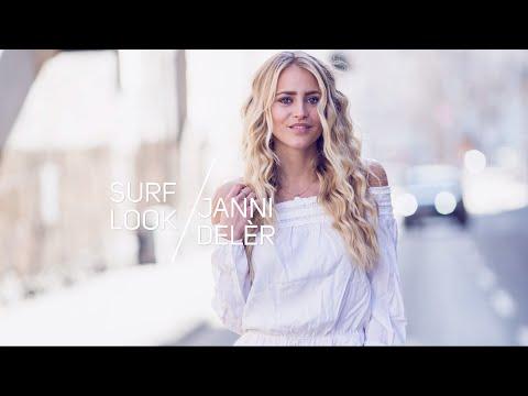 Janni Delér hair tutorial - Surf Look by TRESemmé
