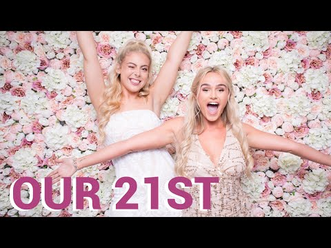 COME TO OUR 21st PARTY WITH US | VLOG | SYD AND ELL