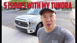 5 ISSUES With My 2018 Toyota Tundra 10,000 Mile Review