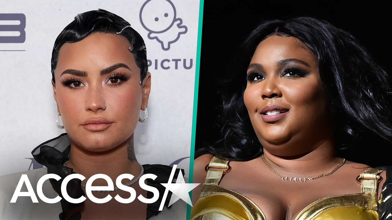 Demi Lovato Thanks Lizzo For Correcting Photog Who Misgendered Them