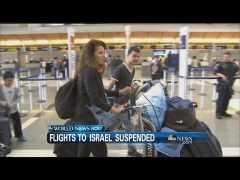 WEBCAST: FLIGHTS TO ISRAEL SUSPENDED