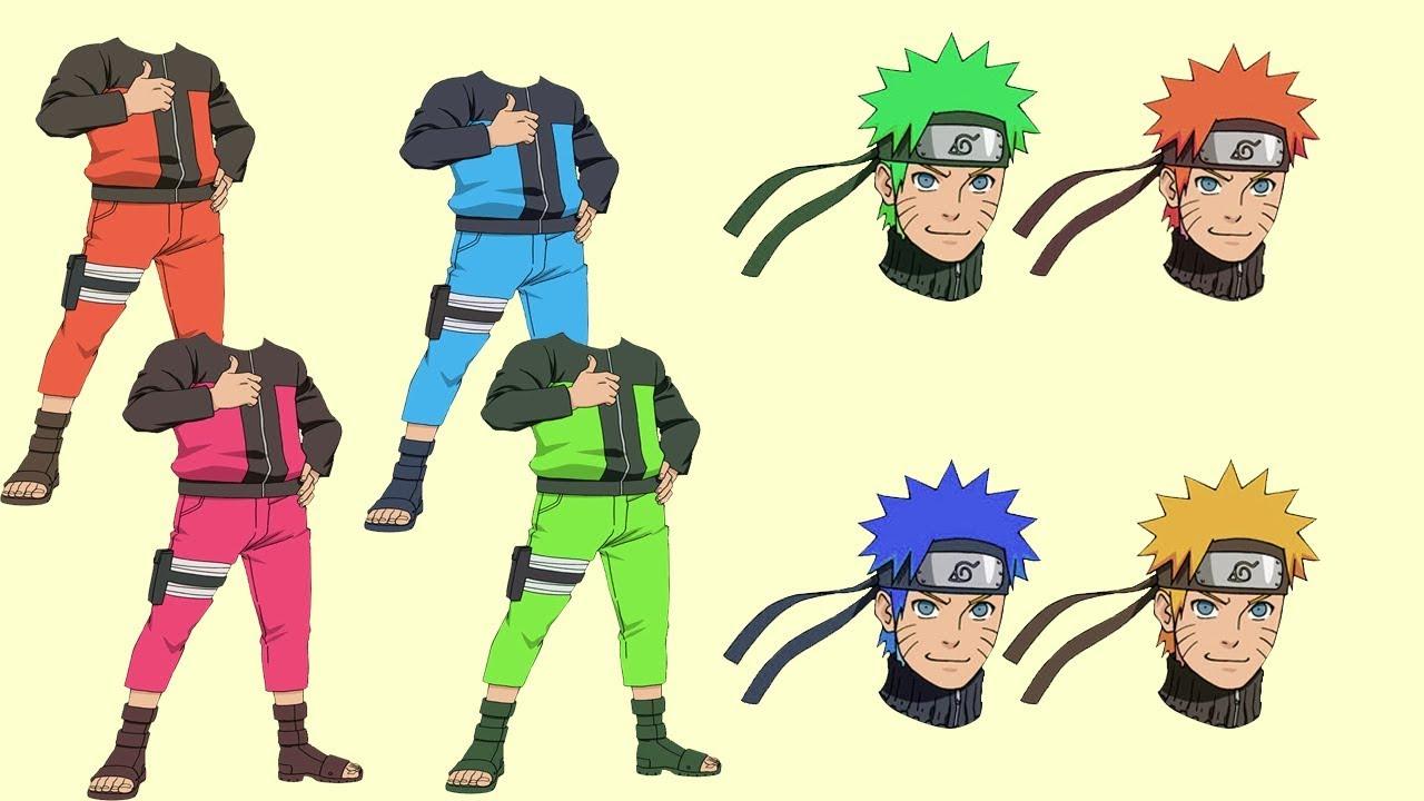 Dessin anim enfant naruto hokage apprendre les couleurs avec les finger family by benzekids - Naruto dessin couleur ...