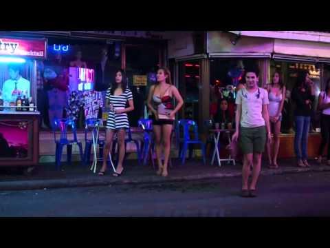 2014 Walking Street Pattaya Beautiful Ladyboys & Thai Ladies