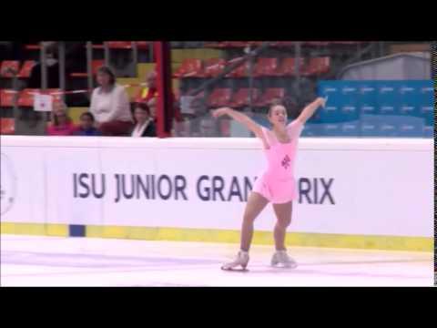 Alexandra of Hanover   ISU Junior Figure Skating in Linz
