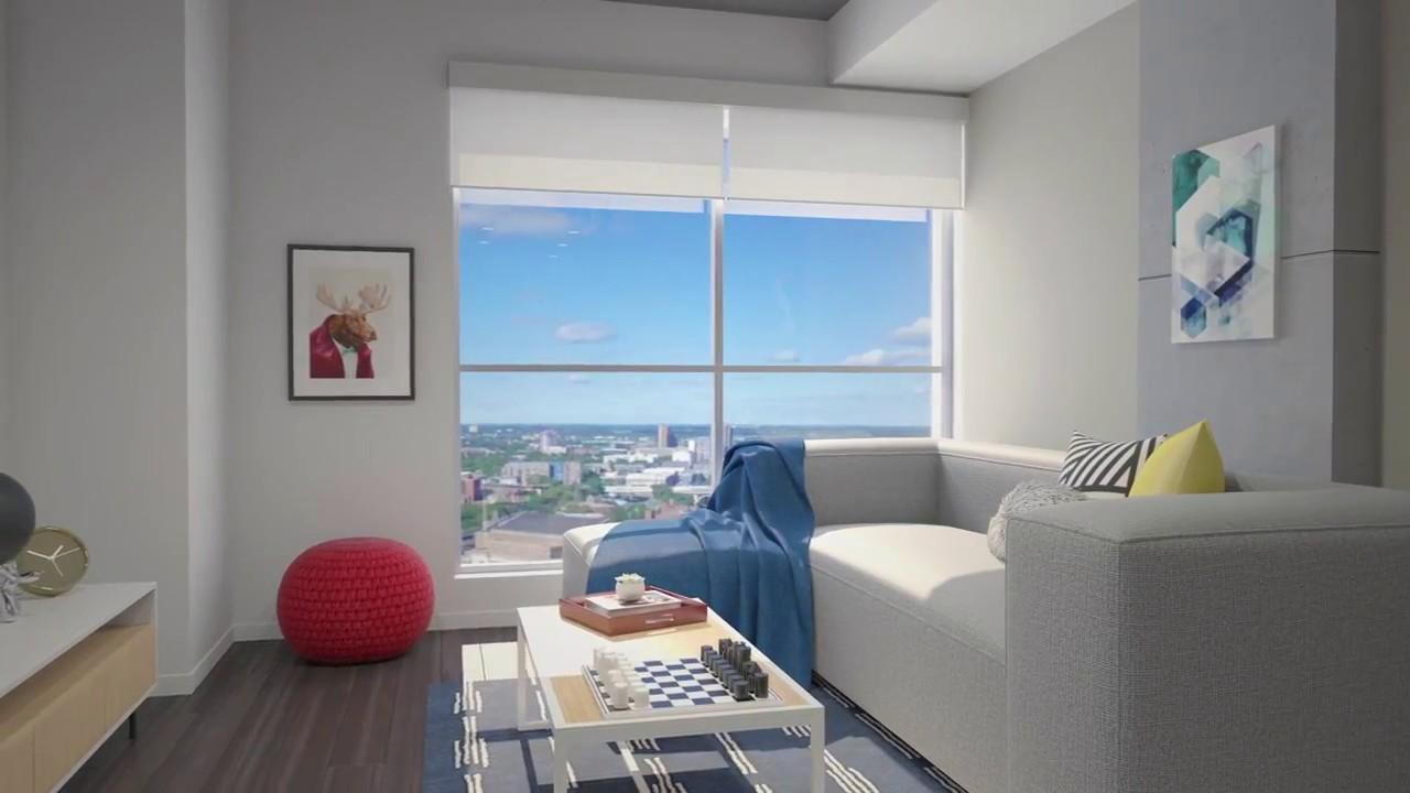 Hub Minneapolis Apartments | Greystar - YouTube