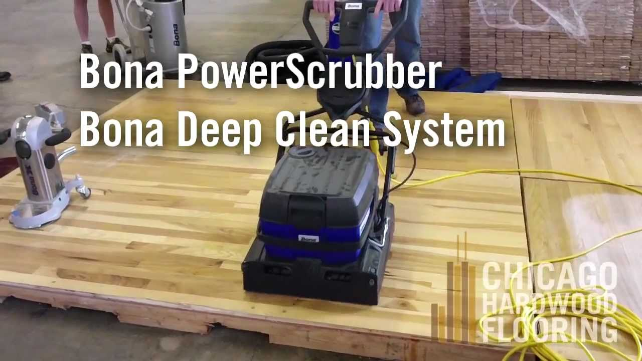 Bona powerscrubber floor cleaning machine youtube dailygadgetfo Image collections