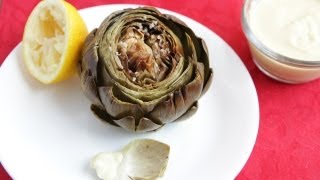 How To Cook An Artichoke Recipe (9.26.12 - Day 45) Oven Roasted Artichoke