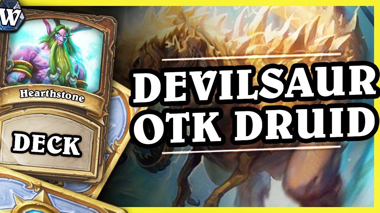 DEVILSAUR OTK COMBO DRUID – Hearthstone Deck Wild (K&C)