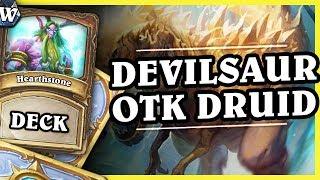 DEVILSAUR OTK COMBO DRUID - Hearthstone Deck Wild (K&C)