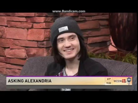 Asking Alexandria - The Black  ( acoustic live )  at WZZM13 TV