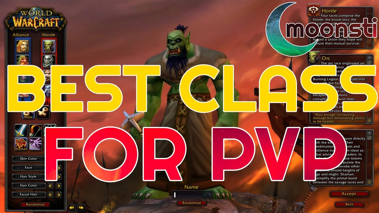 Top pvp class wow
