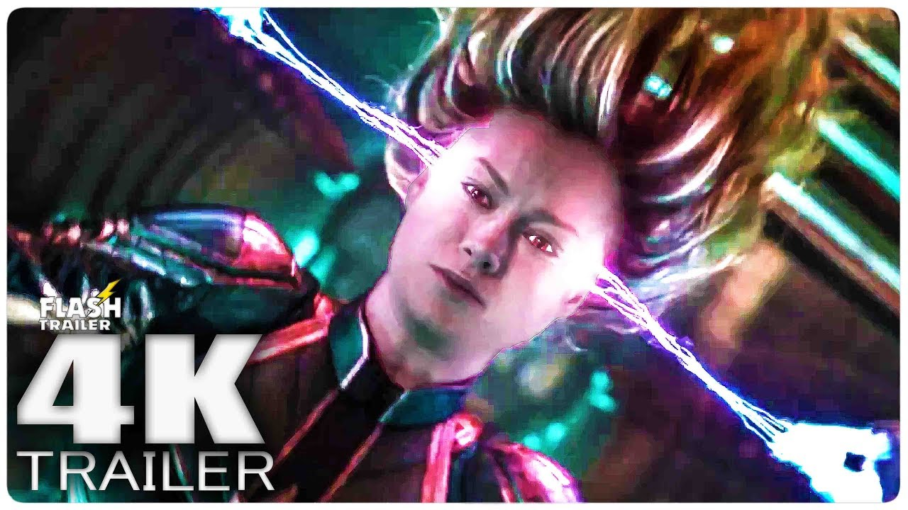 CAPTAIN MARVEL Trailer (2019) 4K Ultra HD