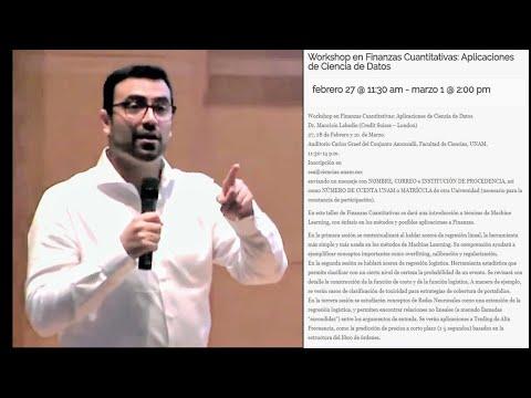 Workshop en Trading Cuantitativo: del HFT al ETF  1/3 (Mauricio Labadie)