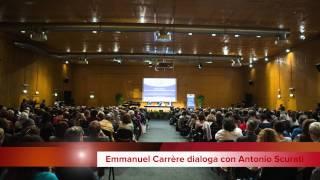 Conferimento Premio Autore Straniero a Emmanuel Carrère