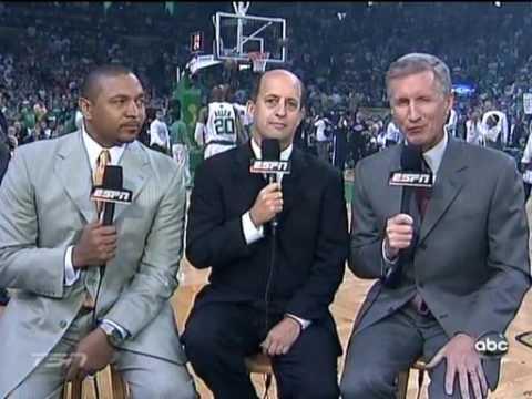 Boston Celtics vs Los Angeles Lakers 2008 NBA final game2 part1