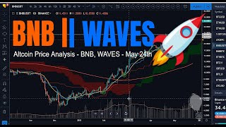 Binance Coin -- Clear Skies Ahead?! - BNB | WAVES - Altcoin Price Analysis 24th May 2019