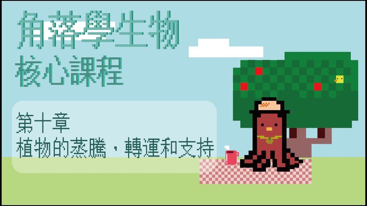 HKDSE BIO CH10 Part 10 [植物的支持] - YouTube