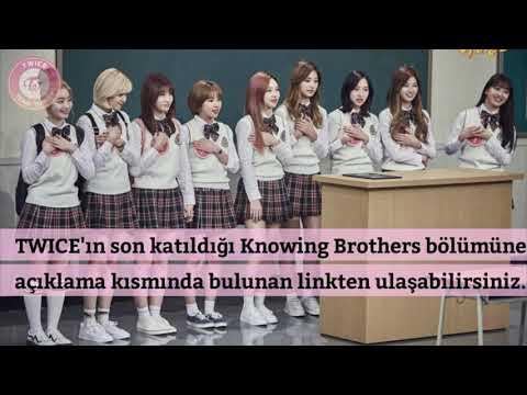 [Türkçe Altyazılı] TWICE - Knowing Brothers 76. Bölüm