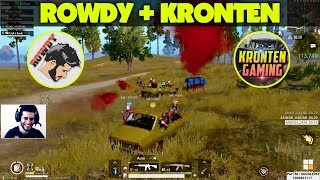 KRONTEN + ROWDY = Unlimited Fun Unlimited Killing - HIGHLIGHTS