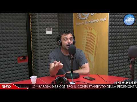 Davide De Marinis a Radio Lombardia - Apro e Chiudo