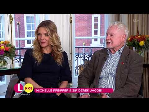 Michelle Pfeiffer & Sir Derek Jacobi on the Cast of Murder on the Orient Express  Lorraine