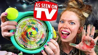 Spin Art MACHINE?! - Does This Thing Really Work?