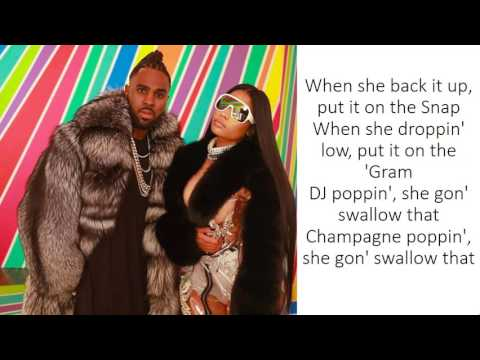 Jason Derulo - Swalla (feat. Nicki Minaj & Ty Dolla $ign) (Lyrics)