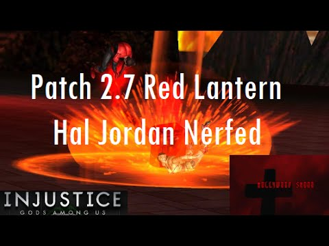 Injustice Gods Among Us iOS - Patch 2.7 Red Lantern Nerf, Crit Fixed, and Survivor Changes