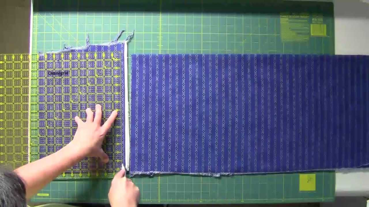 Fabric Cutting for Quilt As You Go - YouTube : cutting fabric for quilting - Adamdwight.com