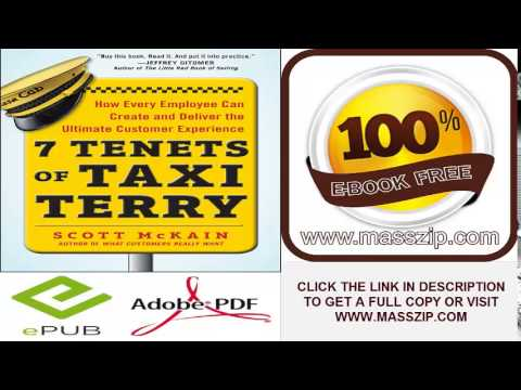 7 Tenets of Taxi Terry by Scott McKain