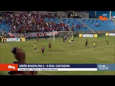 Torneo Aguila - Fecha 12 | Unión Magdalena 2-0 Real Cartagena | Win Sports