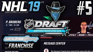 NHL 19 Young Guns | Expansion Franchise | EP5 | NOT ONE BAD PICK! (2019 Entry Draft)