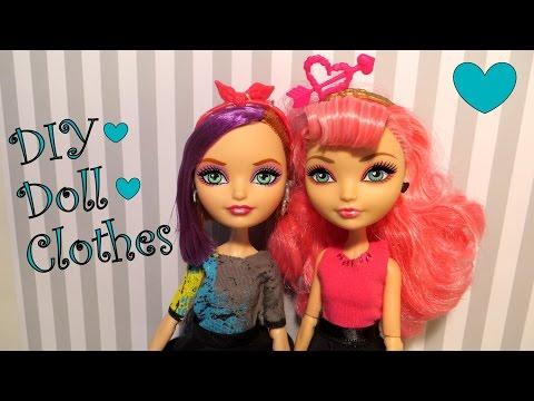 DIY Doll Clothes Tutorial
