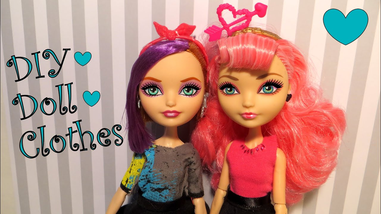 Diy Doll Clothes Tutorial Youtube