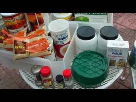 Long Term FOOD storage - Survival Food & Prepping