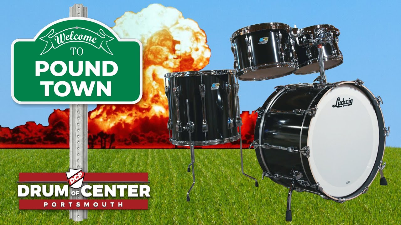 Download NEW Ludwig Classic Oak Drum Set Review - DCP POUND TOWN