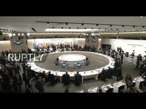 : G20 Summit in Osaka – Day 1