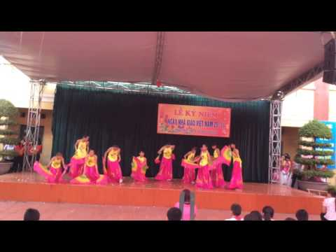 Múa: Non nước hữu tình - Chào mừng 20/11/2015 của Lớp 7A2 Trường THCS Minh Thành TP Thái Bình